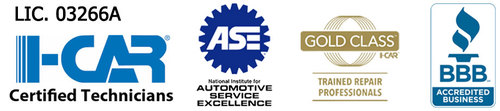 Golden Touch Auto Body Certifications